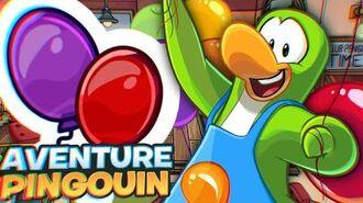 Pin - Ballons d'Anniversaire! Aventure Pingouin
