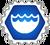Badge cardjitsu eau
