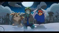 Aventure Pingouin Fête d'Halloween!
