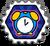 Badge chrono soda