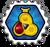 Badge Ninja de Feu