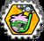 Badge atrape-bulle