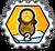 Badge 2 Sacs de pièces
