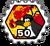 Badge Expert en feu