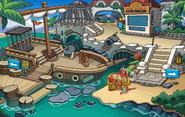 Fête pirate châteaux