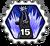 Badge 15 guérisons