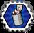 Badge As de l'asticot