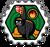 Badge Ninja de Feu(CJN)