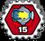 Badge Maxi tirs