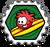 Badge Puffle surfeur