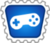 Badge jeux vidéos