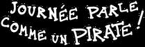 Logo de la journée parle comme un pirate