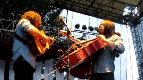 "The Avett Brothers ""Hand Me Down Tune"" Edgefield, OR 8 26 12"