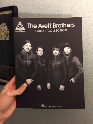 The Avett Brothers Guitar Collection 1
