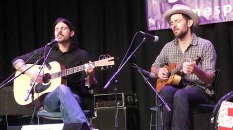"Avett Brothers NEW SONG ""Neapolitan Sky"" Songwriters Workshop Merlefest 04.28.17"