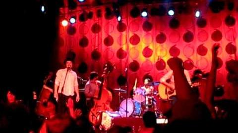 Go to Sleep - featuring Paleface, live at the Trocadero in Philadelphia, May 30th, 2009. Paleface, live-