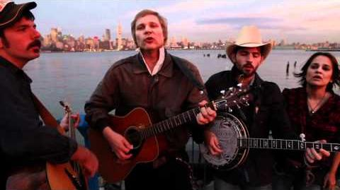 """The Avett Brothers & Paleface sing, """"New York, New York"""""""