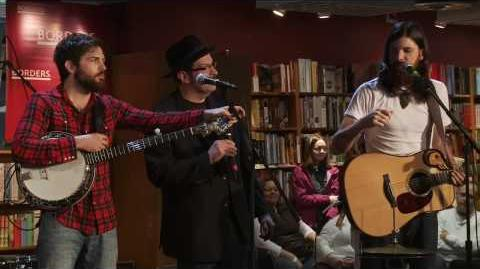 January Wedding - The Avett Brothers - Live from Borders - 3-9-10