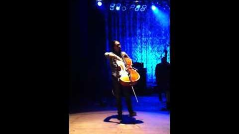 Joe Kwon cello solo - Mesa Ampitheater - October 21st, 2011 - Go to Sleep