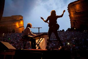 Avett Brothers at Red Rocks July 2012