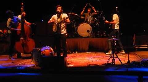 "The Avett Brothers - ""Complainte D'un Matelot Mourant"" live @ Red Rocks Night 1 7-6-13"