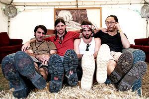 The Avett Brothers at Bonnaroo 2012