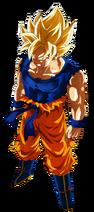 Son goku super saiyan fnf by nekoar-dak5a11