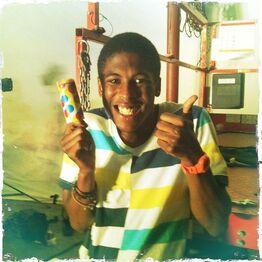Jeremy with ice cream