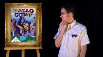AVGN Bad Game Cover Art 9 - Rallo Gump (DOS)