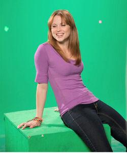 AVGN Movie Sarah Glendening green screen