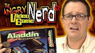 Aladdin Deck Enhancer (NES) - Angry Video Game Nerd (AVGN)