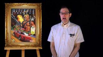 AVGN- Bad Game Cover Art -24 - The Ultimate Stuntman (NES)
