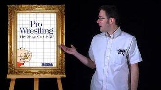 AVGN Bad Game Cover Art 1 - Pro Wrestling (Sega Master System)