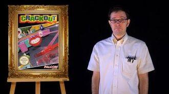 AVGN- Bad Game Cover Art -14 - Crackout (NES)