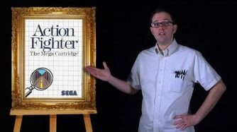 AVGN Bad Game Cover Art 4 - Action Fighter (Sega Master System)
