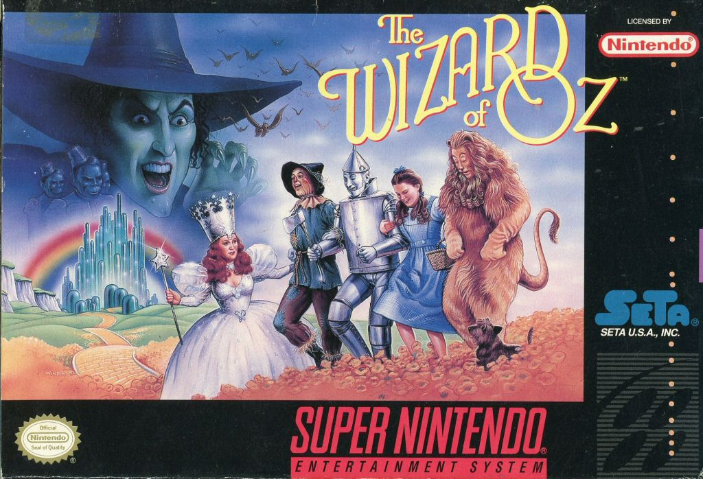 the wizard of oz video game angry video game nerd wiki