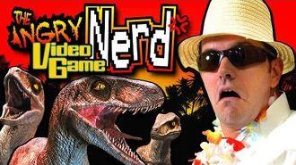 Jurassic Park Trespasser (PC) - Angry Video Game Nerd (AVGN)