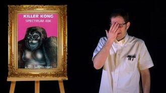 AVGN- Bad Game Cover Art -21 - Killer Kong (ZX Spectrum)