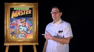 AVGN- Bad Game Cover Art -16 - Treasure Master (NES)