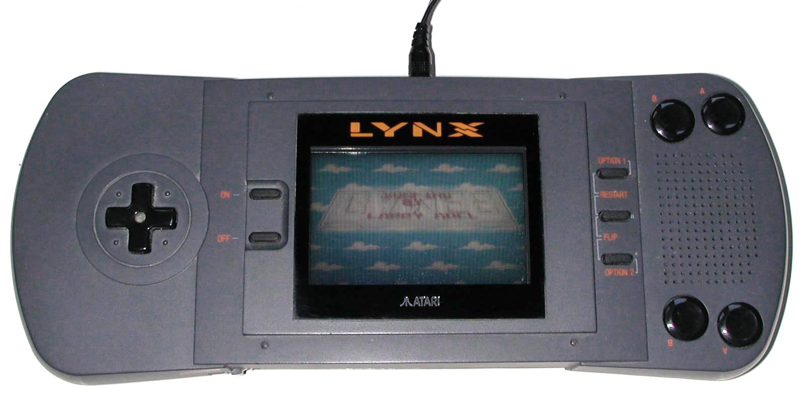 Lynx handheld console game on video game consoles