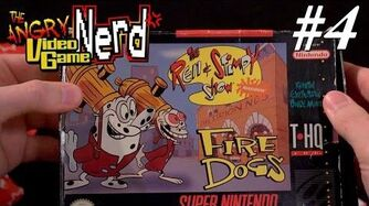 Ren & Stimpy Fire Dogs (SNES) Angry Video Game Nerd - Episode 125