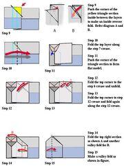 Triplet paper airplane 2