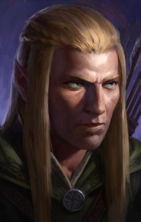 Cennyd (Pillars of Eternity Wood Elf by Andrew Eriksson on ArtStation)