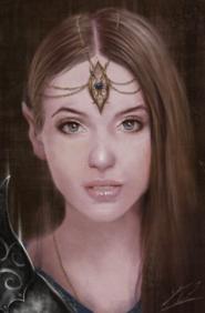 Vilivia Vaienne final (Fantasy Elf Portrait by Jay-Carpenter on DeviantArt)