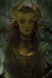 Maeve Melandris (Rynduil Wood Elf Druid on Pinterest)