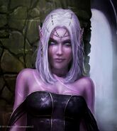 Nizana Trisney (Dark Elf Avater by Graysun-D on DeviantArt)