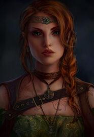 Eirwen Dwehir aep Graig (Ashana by AnnaHelme on DeviantArt)