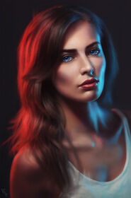 Thame Elvarne (Female Portrait Study 20 day 111 by AngelGanev on DeviantArt)