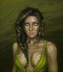 Thaire Chaladron (Wild elf look into my eyes by martaduda on DeviantArt)