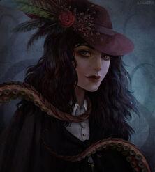 Regina Pralda (Damaris Corbray by arnaerr on DeviantArt)